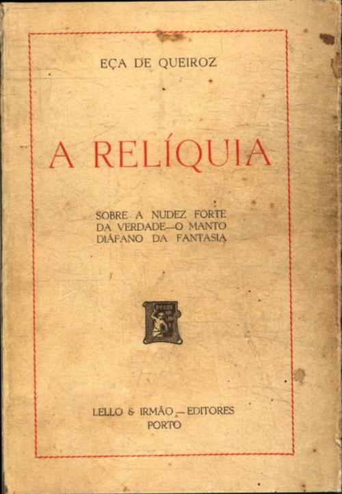 A Relíquia - Resenhas - Livros - Bons Livros Para Ler
