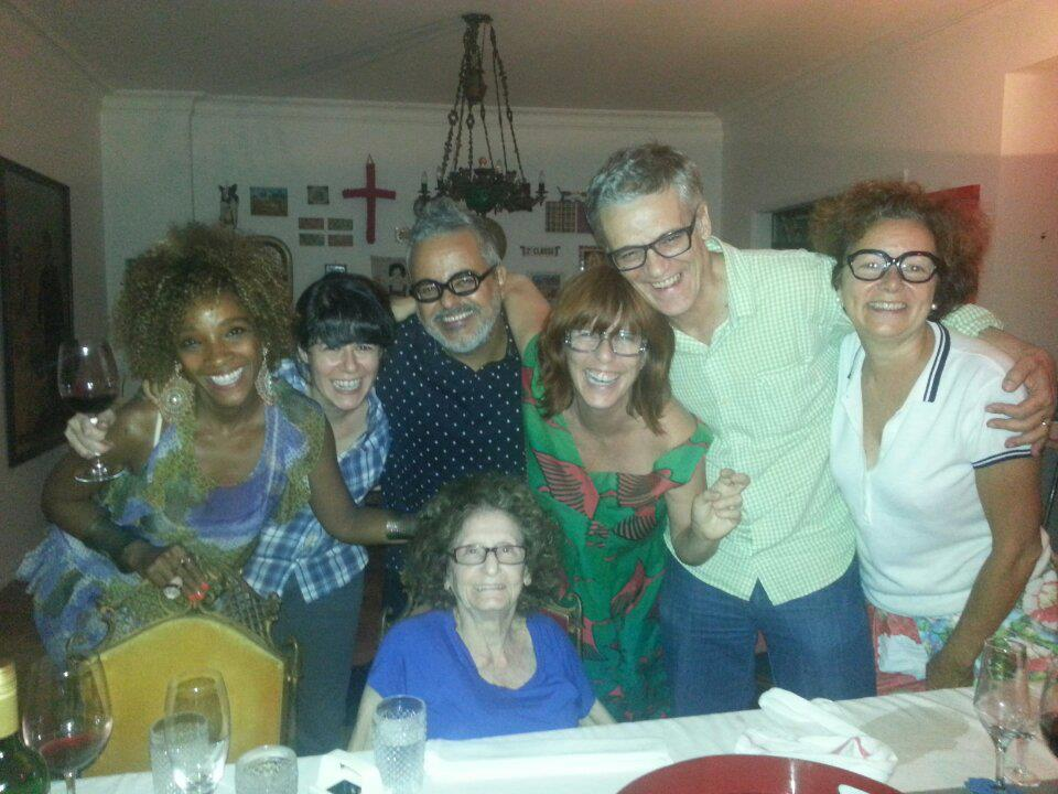 Luiz Guilherme Ronaldo Fraga e amigos